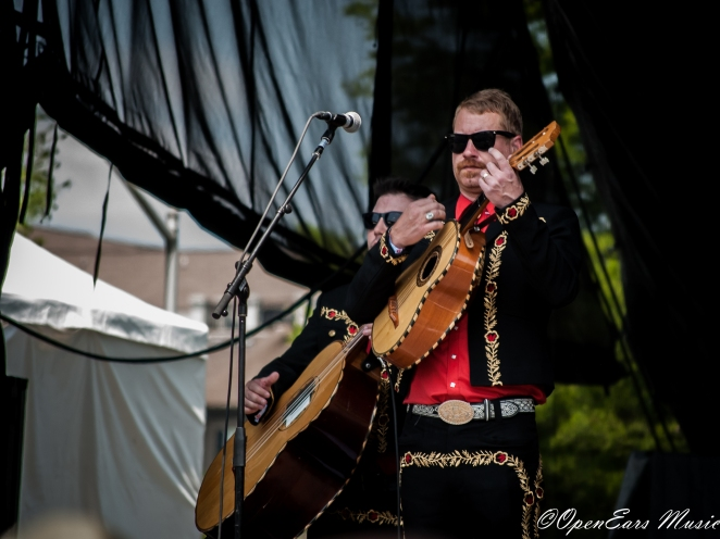 Mariachi El Bronx. Photo By Mike Gerry