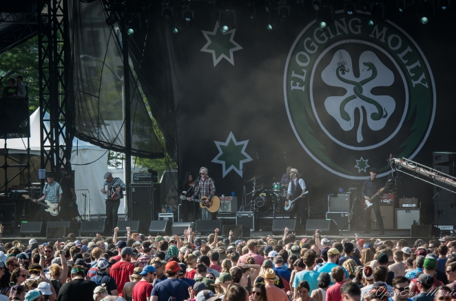 Flogging Molly. Photo By Jamie Platus