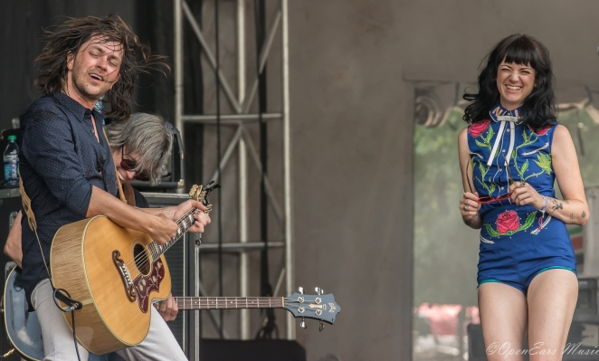 Old 97s joined by Nikki Lane. Photo By Jamie Platus
